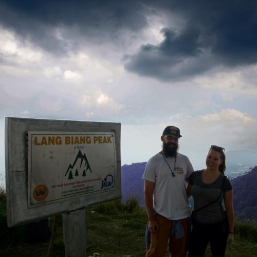 Die Besteigung des Lang Biang auf 2167m Höhe